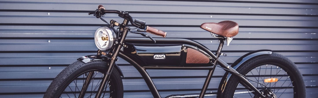 Greaser E Bike Bicicletta Elettrica Vintage Custom Bcyclesit