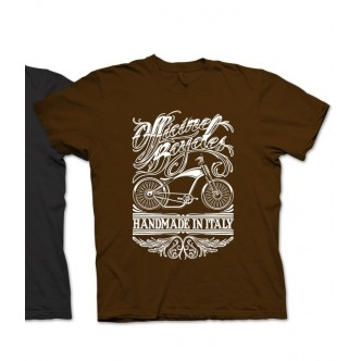 T-SHIRT Officine Bcycles Chopper Chocolate