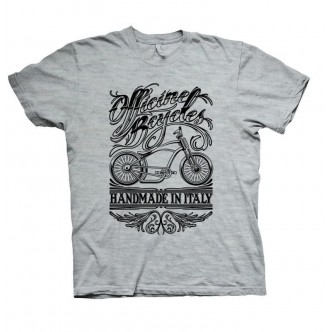 T-SHIRT Officine Bcycles Chopper Grigio
