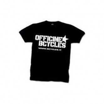 T-SHIRT Officine Bcycles Nera
