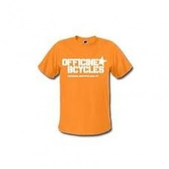T-SHIRT Officine Bcycles Orange
