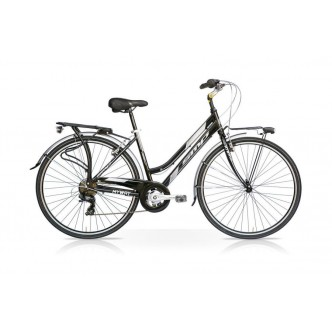 Bicicletta MY WAY 28 Donna 7V Nero Mercurius