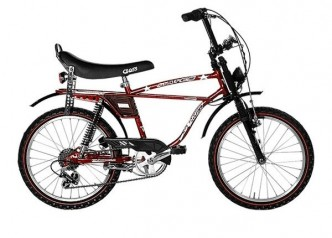 StarCross Vintage 20 Bike 6V Ruby Red