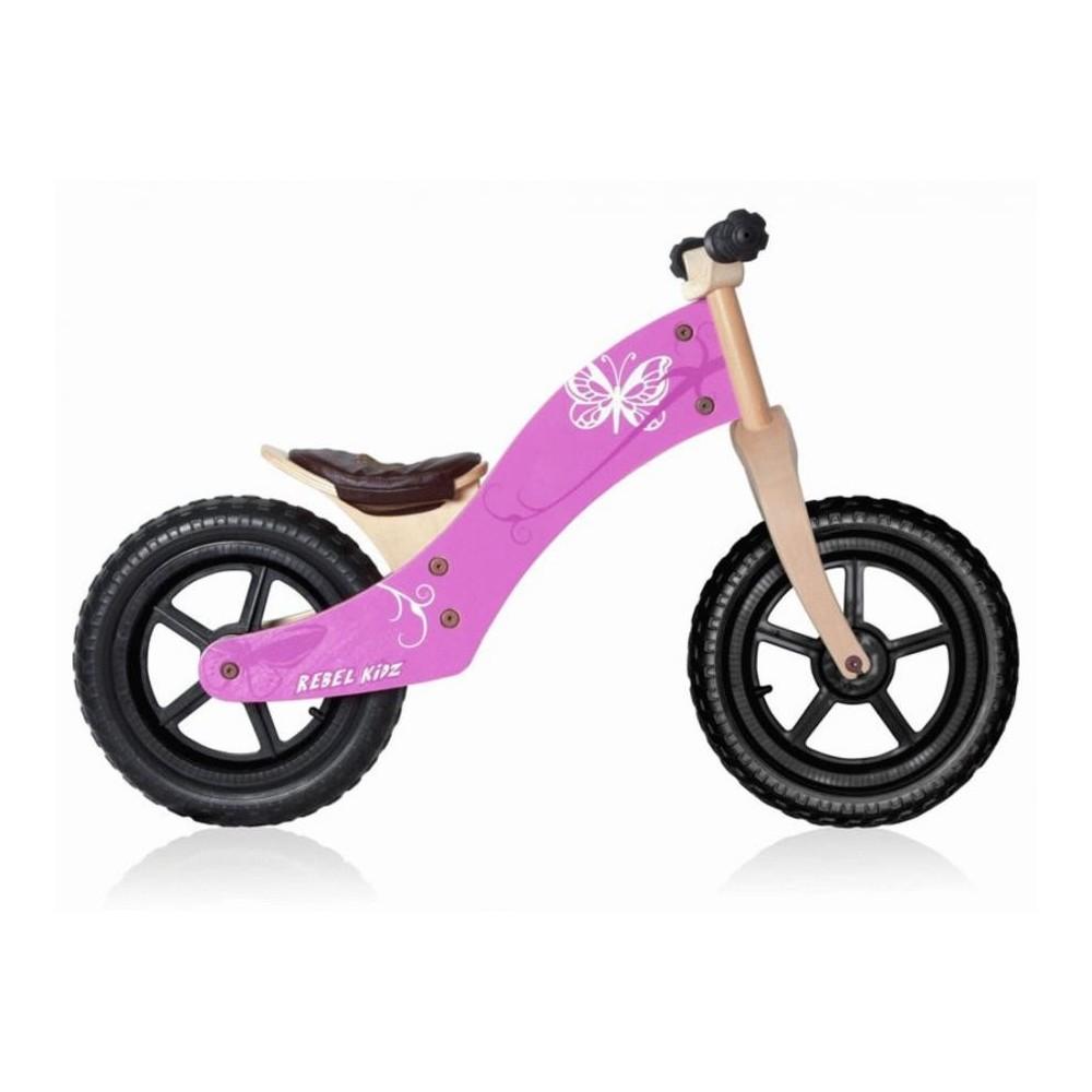 Rebel Kids Bicicletta Bambina Balance bike Pink 12 EVA