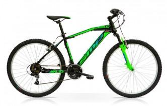 Bicicletta MTB MUD 27.5 Front 21V Shimano Nero Verde
