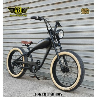 Joker Bad Boy E-Bike Nero Opaco 250W