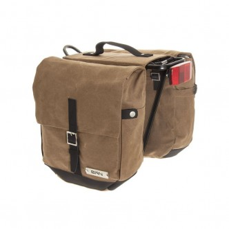 Borsa in Canvas Rider Miele  a bisaccia