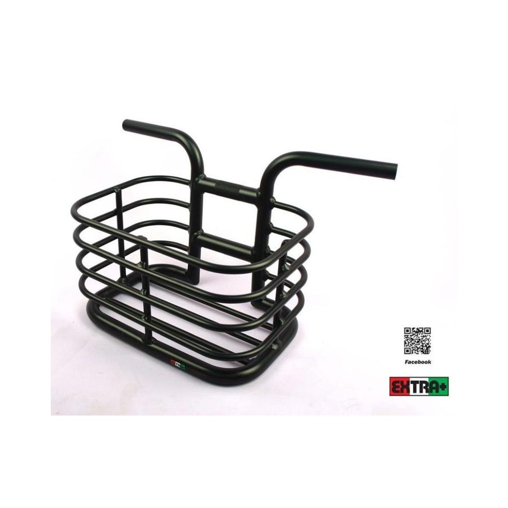 Manubrio cestino Beach Basket Small nero